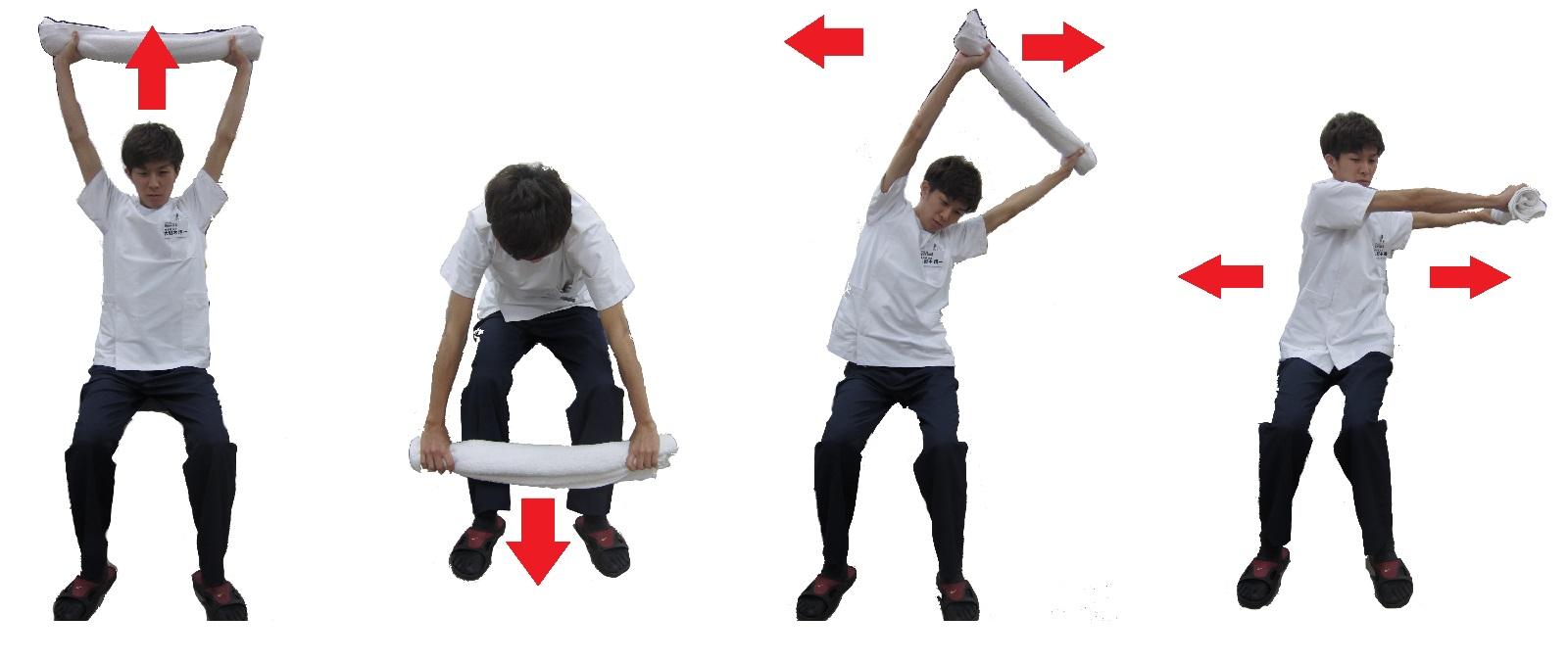 高齢 タオル 者 体操